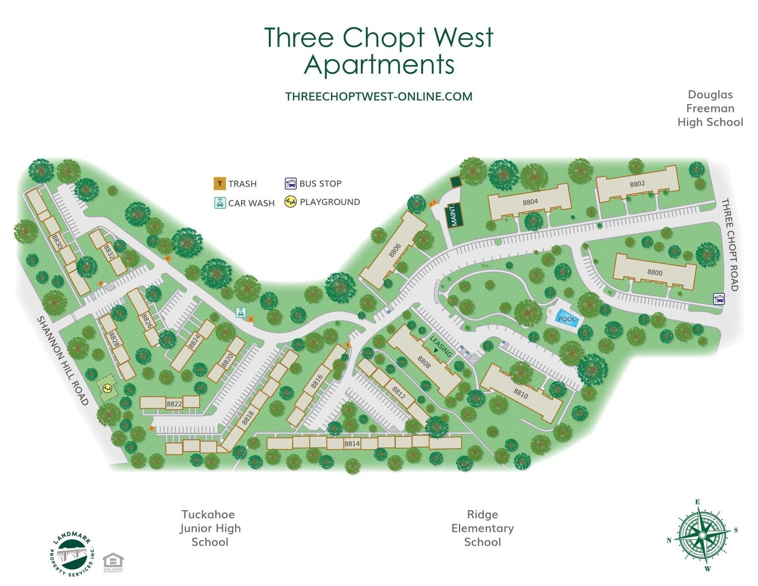 Three Chopt West