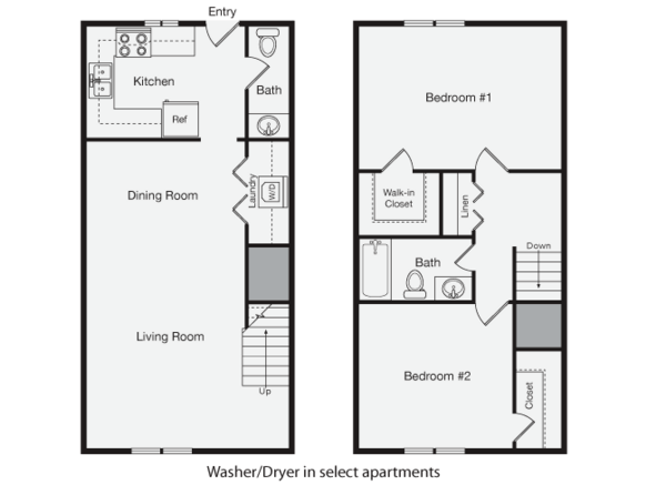 2 + 1.5 Townhome