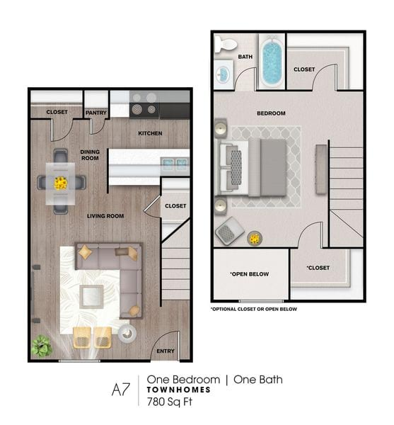 A7 780 Sq Ft