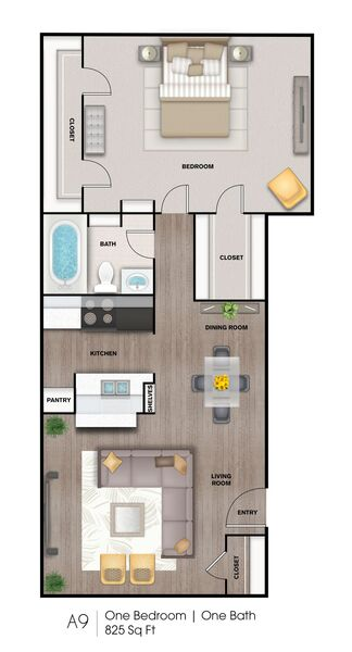A9 825 Sq Ft