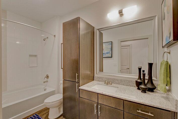 RiverVue Apartments bathroom