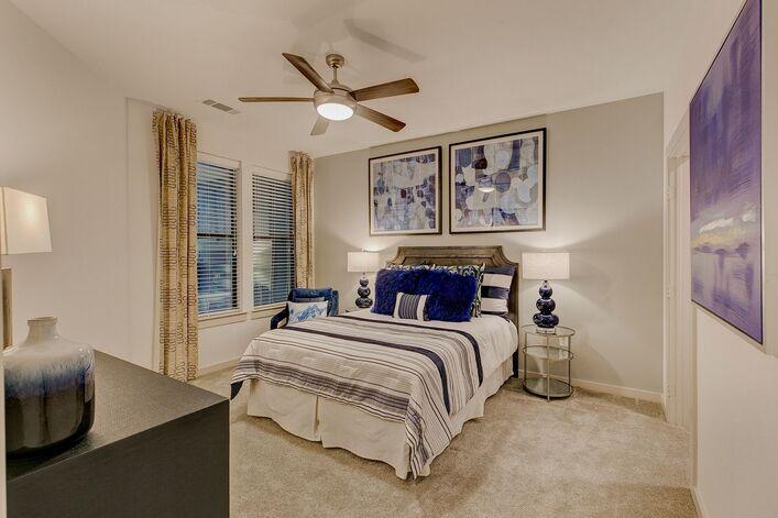 RiverVue Apartments bedroom