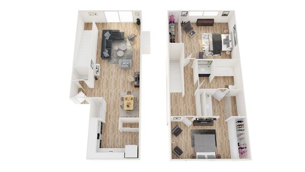 2x1 Townhome
