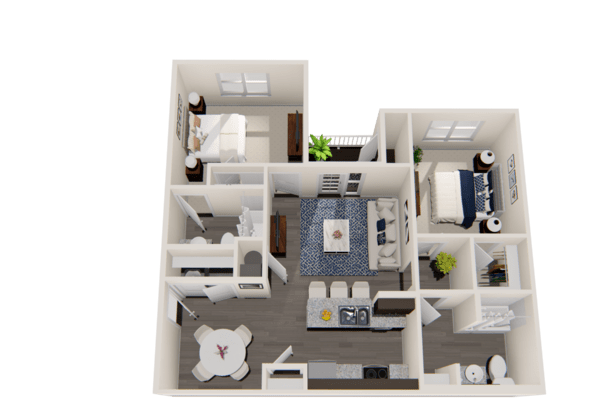 Two-Bedroom Unit