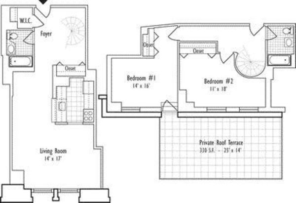 2 Bedroom G-Duplex