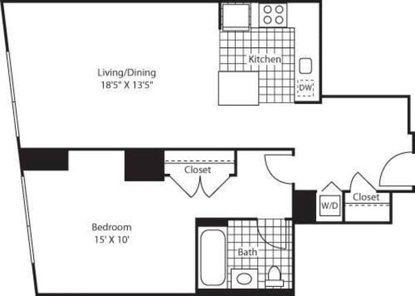 One Bedroom AK FL 3-6