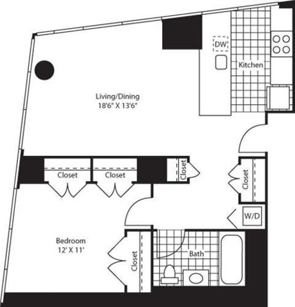 One Bedroom BG FL 47-79