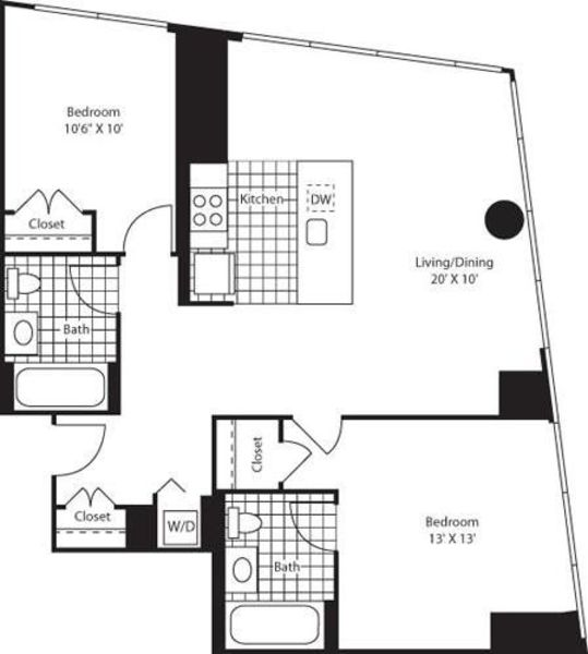 Two Bedroom D43-46