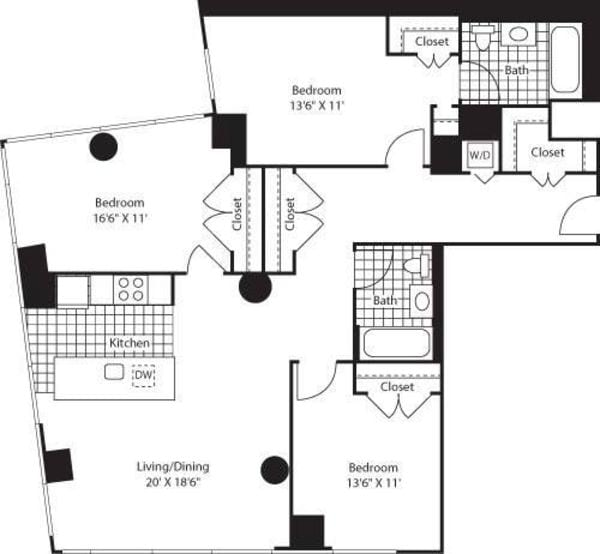 Three Bedroom CK