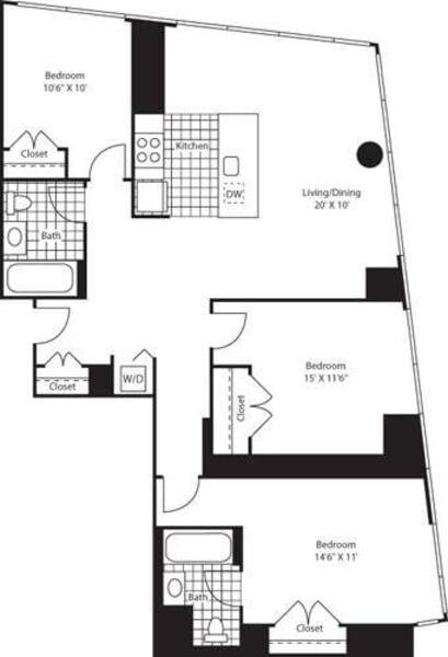 Three Bedroom D