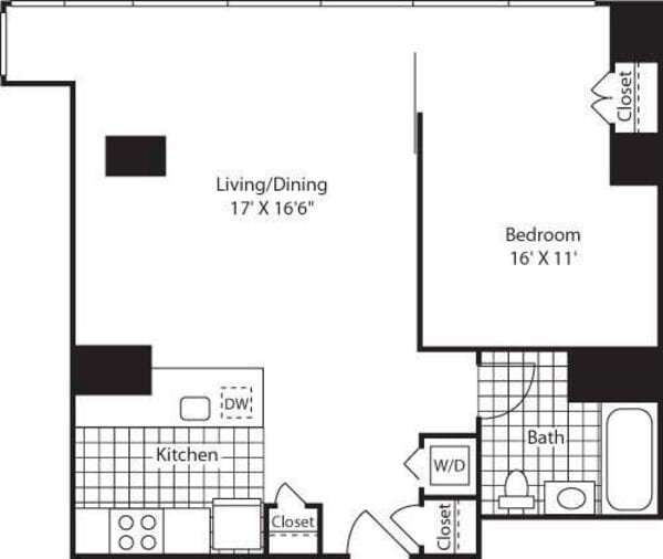 One Bedroom CAKit FL 12_783