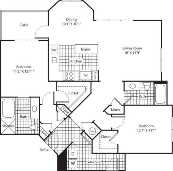 Two Bed B-3 - Phase II