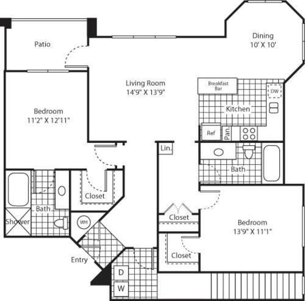 Two Bed B-4 - Phase II