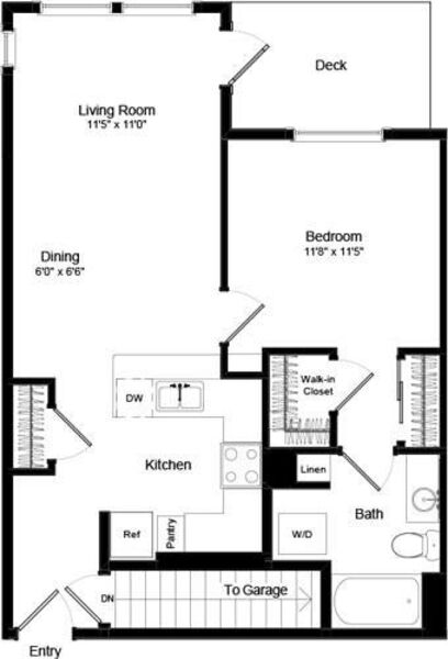 One Bed A-6 - Phase III