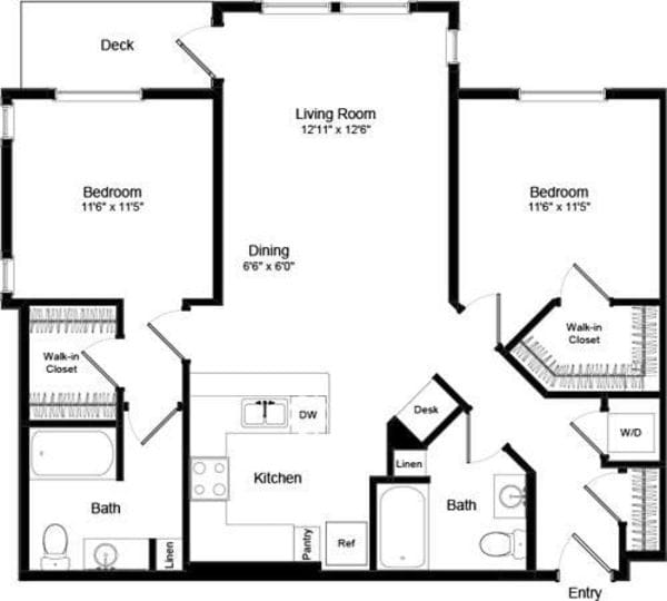 Two Bed B-4 - Phase III
