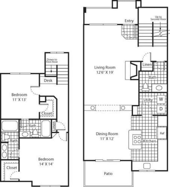 Two Bed B-5 - Phase I