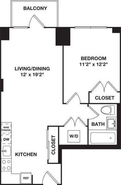 One Bedroom B 4-8