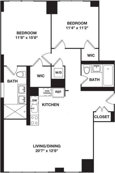 Two Bedroom 10A