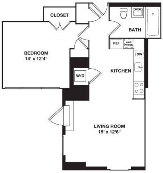 One Bedroom 10G