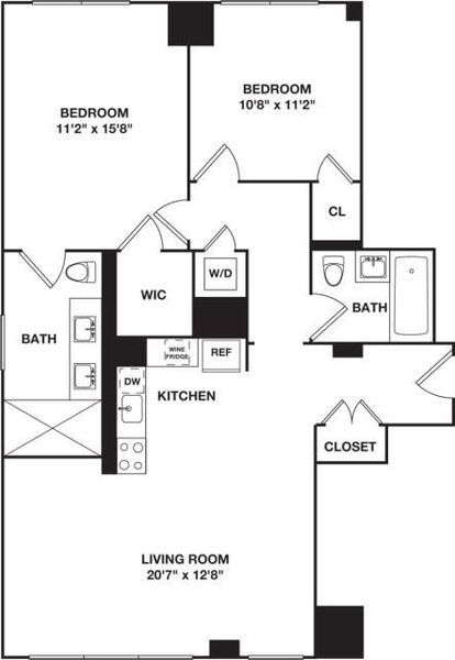 Two Bedroom 12A