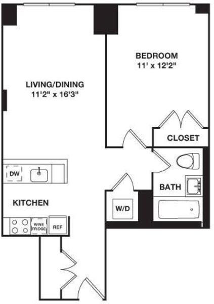 One Bedroom B.2