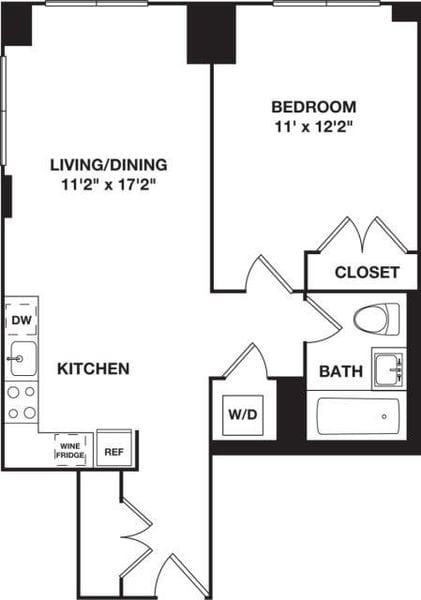 One Bedroom B.3