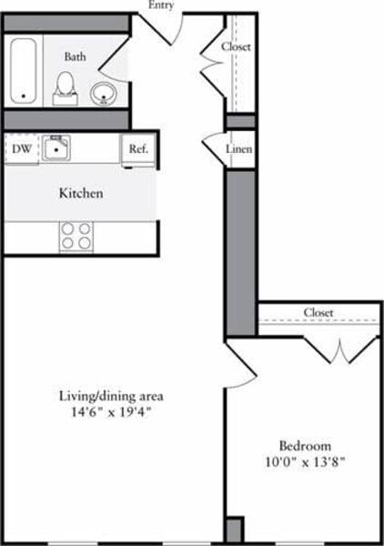 The Lofts 1 Bedroom D