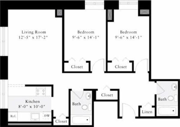 The Lofts 2 Bedrooms N
