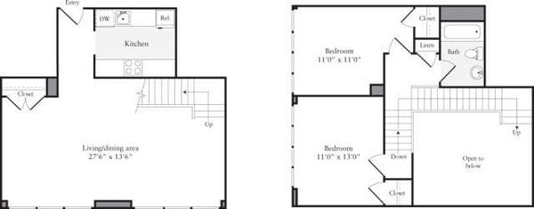 The Lofts 2 Bedrooms U