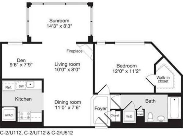 1 Bedroom BB