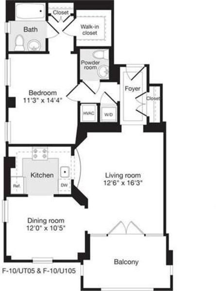 1 Bedroom FF
