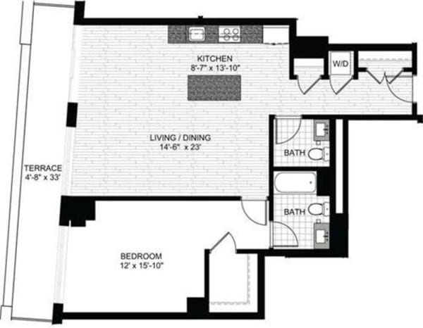 1 Bedroom EE