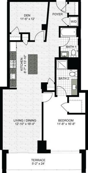 1 Bedroom LL