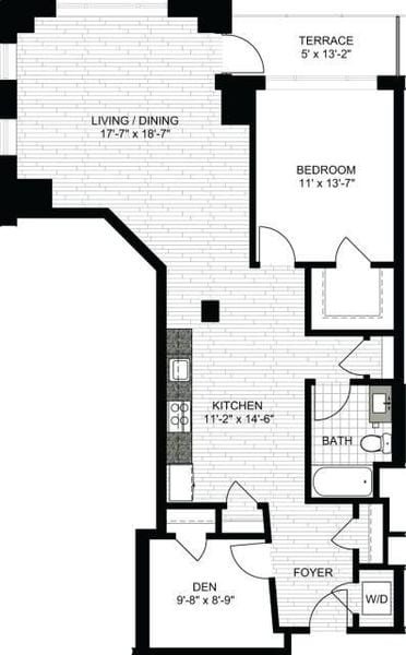 1 Bedroom MM