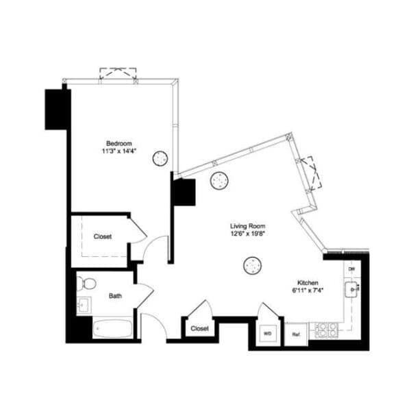One Bedroom I 3-6