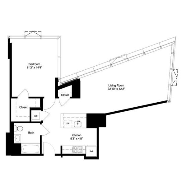 One Bedroom H 11-16