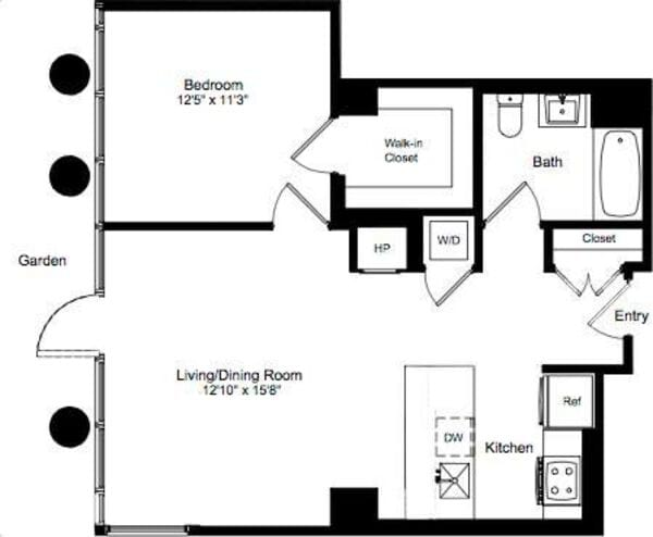 One Bedroom M 2