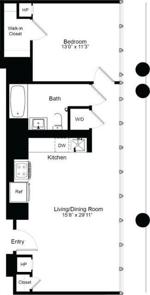 One Bedroom G 19