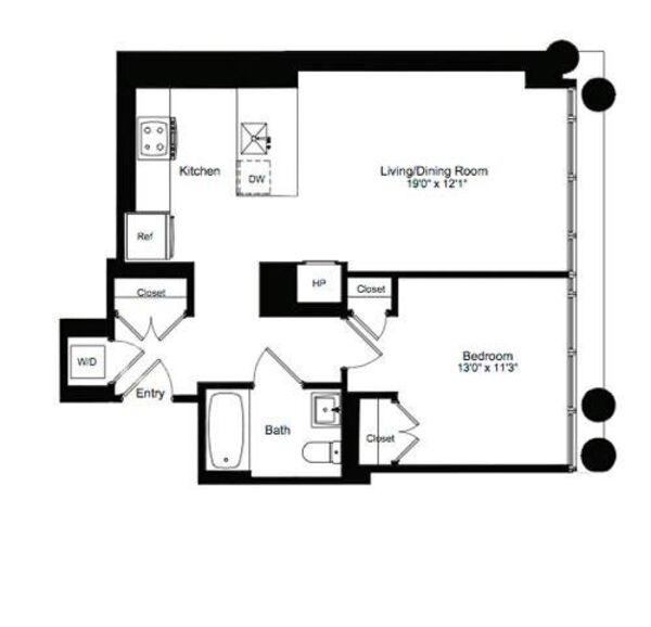 One Bedroom G 3