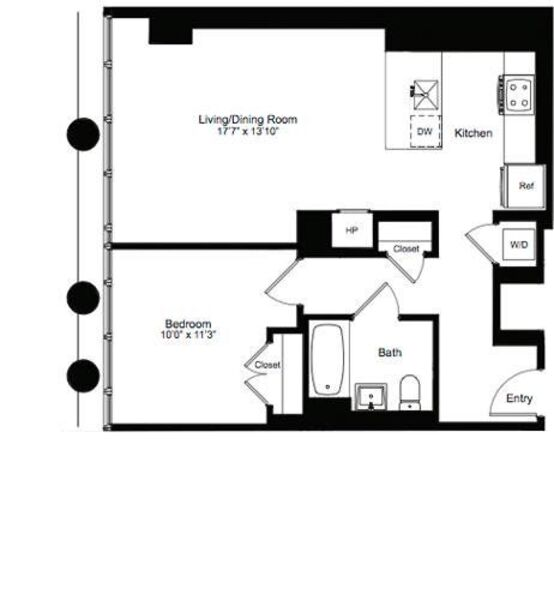 One Bedroom H 2