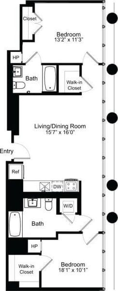 Two Bedroom E 15-18