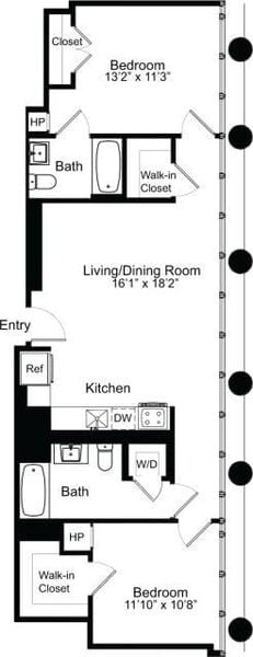 Two Bedroom E 14