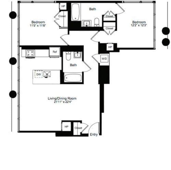 Two Bedroom D 19
