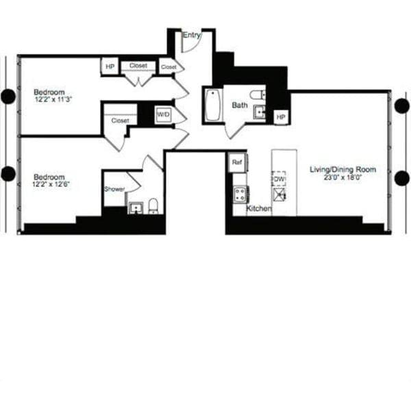 Two Bedroom O 2