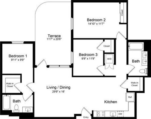 3 Bedroom AT