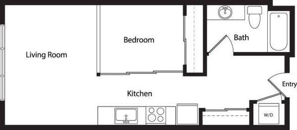 Urban One Bedroom B