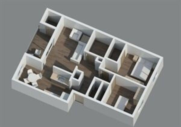 2x1 Upper Level-View-Luxury