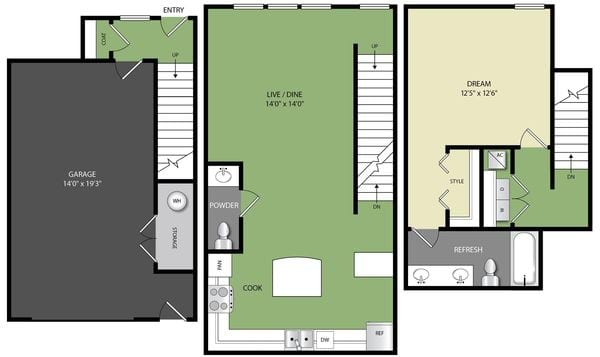 A1.5 AG Townhome