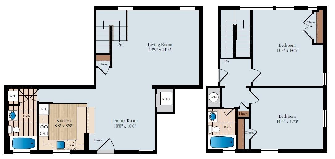 Arlington Unfurnished 2 Bedroom Apartment For Rent 2350 Per Month Rental Id 2838917