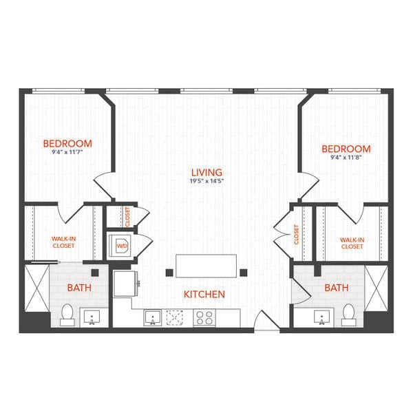 LOFTS 2 Bed D